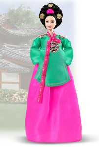 Princess of the Korean Court™ Barbie® Doll - Pink Label® Release Date: 11/15/2004