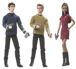 2009 Star Trek Barbie Doll,collection
