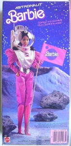 Black ASRONAUT 1st Version Barbie