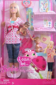 2008 Barbie I Can Be a Baby Doctor Doll