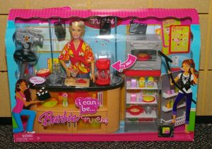 2008 barbie-i-can-be-tv-chef-rubia-de-el