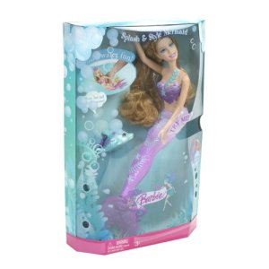 2008 BARBIE Splash & Style Mermaid Doll