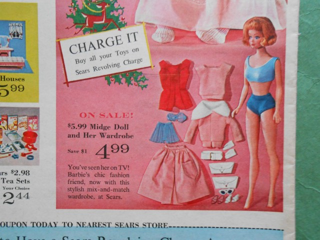 SEARS CHRISTMAS NEWSPAPER CATALOG NOV. 28th, 1963, COMPLETE 32 PAGES, 11