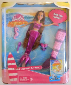 2009 Barbie A Mermaid dolls mini Mermaid