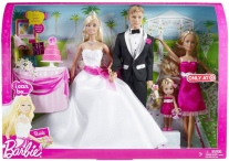 2009 Barbie I can Be...Bride Set n