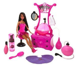 2009 Barbie Styling Salon nikki