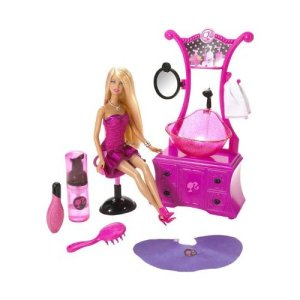2009 Barbie Styling Salon