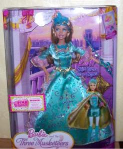 2009 Barbie The Three Musketeers dolls Aramina