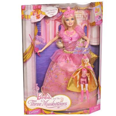2009 Barbie The Three Musketeers dolls connie  Barbie Doll