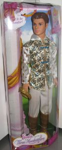 2009 Barbie The Three Musketeers dolls prince
