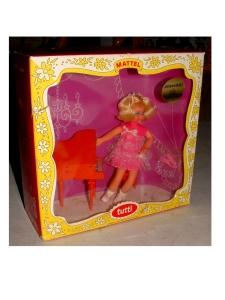 1965 TUTTI MELODY IN PINK MINT IN DIORAMA BOX VERSION 2-$222(158)Aug2008