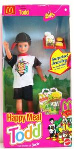'94 McDONALD'S HAPPY MEAL TODD DOLL #11475