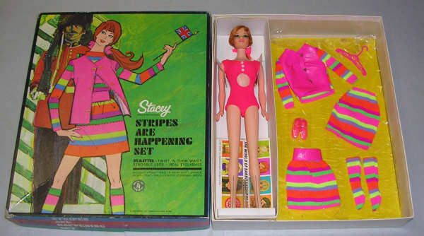 1968 - 1971 Stacey is Barbie's British friend