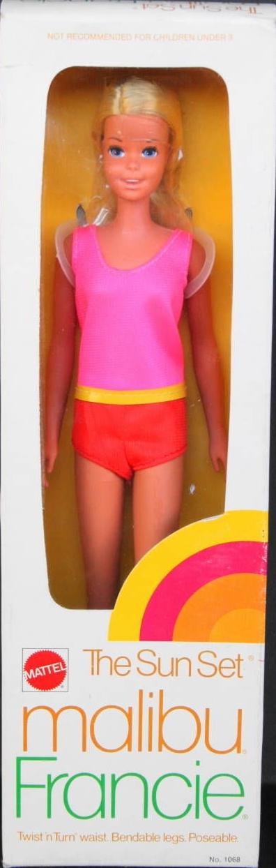 1966 2016 Francie Fairchild Barbie Doll Friends And
