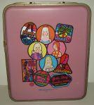 1968 #5037 Barbie,Francie,Stacey,Skipper 4 Doll International Trunk