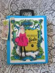 1968 MATTEL THE WORLD OF BARBIE DOLL CASE & HANG TAG STACEY FRANCIE TUTTI
