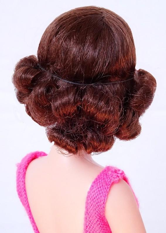 1969 #1170 Twist and Turn Francie brunette back