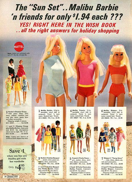 1971 ad Sears Wish Book