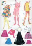 1971 Whitman - Mattel WORLD OF BARBIE paper dolls3