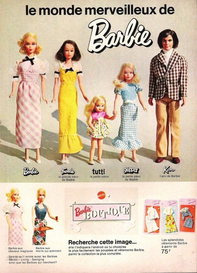 1973 Publicité barbie