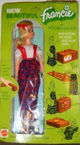 #3313 BUSY GERMAN FRANCIE BARBIE DOLL NRFB- front