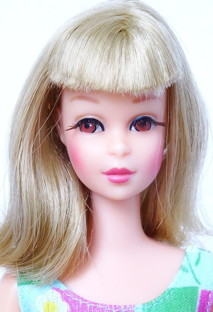 how to clean barbie doll skin