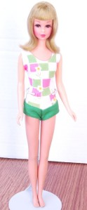 Blonde Bend Leg Francie Doll Mint 2