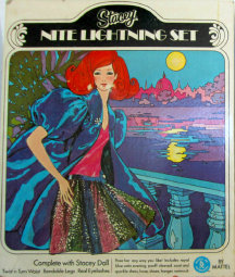 Box 1969 #1591 Stacey Doll & Gift Set – Nite Lightning – Sears
