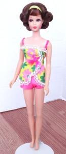 Brunette Flip Twist 'N Turn TNT Francie doll