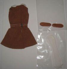 Francie Original German Outfit back