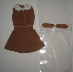 Francie Original German Outfit