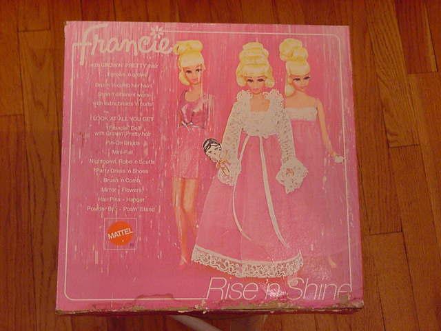 Francie~Rise'nShine~giftset~1971~NRFB~$950~081105