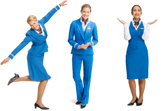 2016 KLM Stewardess Uniform