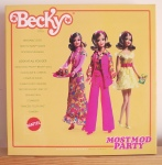Most Mod Party™Becky® Doll box