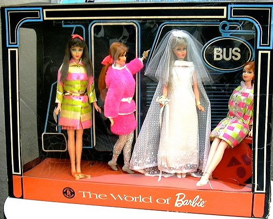 The Wold Of Barbie Store Display