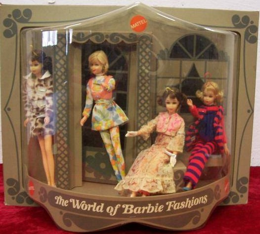 The Wold Of Barbie Store Display3