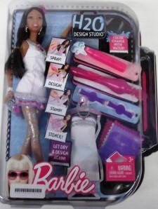 2010 barbie H20 Desgn Studio dolls aa