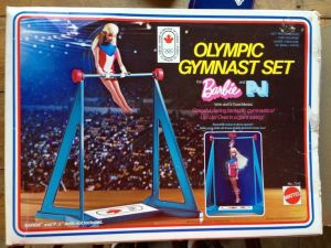 1974 Gold Medal Olympic Gymnast set