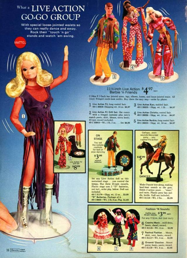 PJ living AD Mattel - Sears
