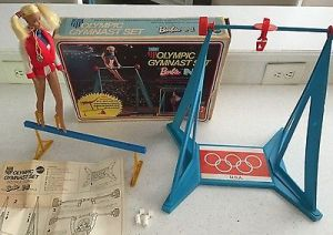 RARE-Vintage-1974-Barbie-PJ-OLYMPIC-GYMNAST-SET