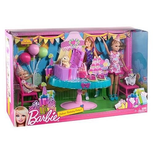 2011 Barbie Chelsea and Stacie Birthday Dolls Set