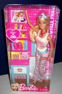 2011 Barbie Loves Paul Frank n