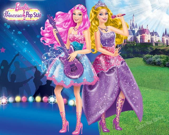2011 Barbie the Princess and the popstar