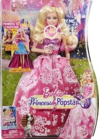 2011 Barbie The Princess & the Popstar n