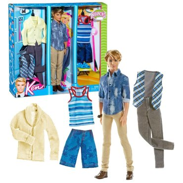 2011 KEN with 3 Sets of Outfits