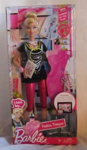 Barbie 2011 I Can Be... A An Fashion Designer Doll 2012 Career of the Year NRFB