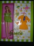 2011 Barbie Fan Club Exclusive Silkstone Doll Francie Nighty Bright Brights NRFB