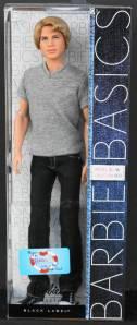 2011 BARBIE BASICS KEN Convention doll 002 Model #16 NRFB MIB GAW Grant A Wish