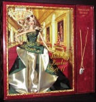 Holiday Barbie 2011 Doll with Gift Necklace NRFB