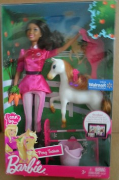 2011 BARBIE I CAN BE PONY TRAINER- NRFB